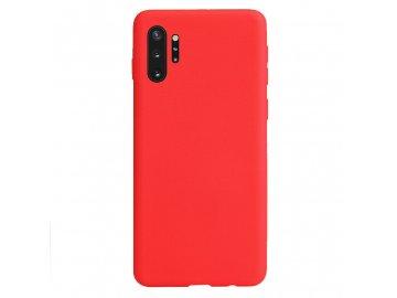 Silikónový kryt (obal) pre Samsung Galaxy Note 10+ (Plus) - red (červený)
