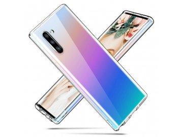 Silikónový kryt (obal) pre Samsung Note 10 - priesvitný