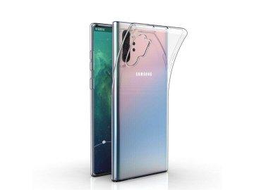Silikónový kryt (obal) pre Samsung Note 10+ (Plus) - priesvitný