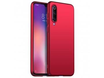 Plastový kryt (obal) pre Xiaomi Mi 9 - červený
