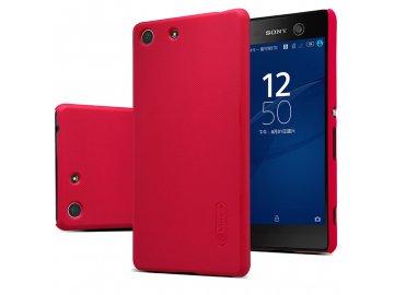 Plastový Nillkin kryt (obal) pre Sony Xperia M5 - červený (red)