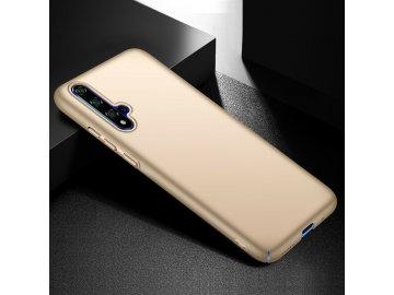Plastový kryt (obal) pre Huawei Nova 5 - zlatý