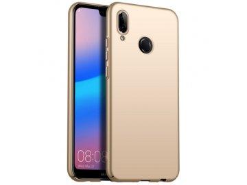 Plastový kryt (obal) pre Huawei Y6 2019/Y6 Prime 2019 - zlatý