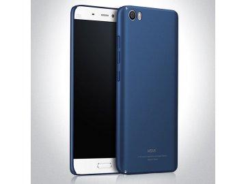 Plastový kryt (obal) pre Xiaomi Mi5 - modrý (blue)