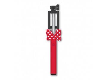 Disney Minnie selfie tyč - červená