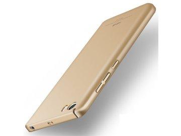 Plastový kryt (obal) pre Xiaomi Mi5 - zlatý (gold)
