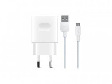 Originálna sieťová nabíjačka Huawei AP32 + micro USB kábel - biela