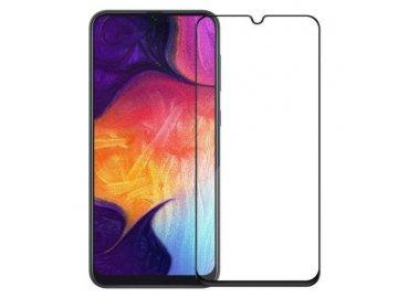 Mocolo 5D tvrdené sklo pre Samsung Galaxy A40 - čierne