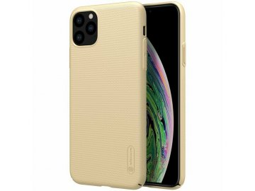 Nillkin plastový kryt (obal) pre iPhone 11 Pro Max - zlatý