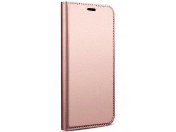 Flip Case (puzdro) pre iPhone 11 - ružové - s magnetickým dovieraním