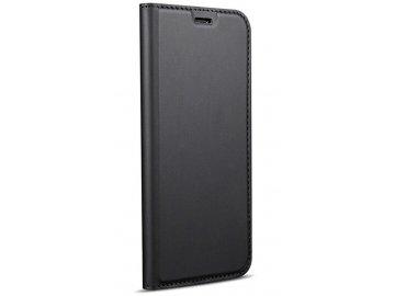 Flip Case (puzdro) pre iPhone 11 - čierne - s magnetickým dovieraním