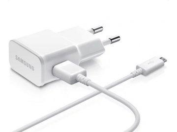 Originálna nabíjačka Samsung ETA-U90EW + micro USB kábel - biela