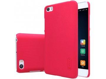 Plastový Nillkin kryt (obal) pre Xiaomi Mi5 - červený (red)