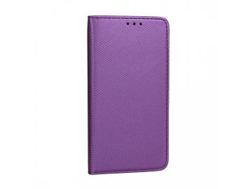 Telone flip Case (puzdro) pre Sony Xperia 10 - fialové - s magnetickým dovieraním
