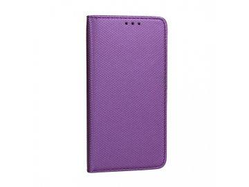 Telone flip Case (puzdro) pre Samsung Galaxy M20 - fialové - s magnetickým dovieraním