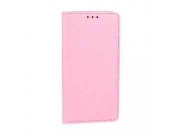 Telone flip Case (puzdro) pre Huawei Y6 2018 - ružové - s magnetickým dovieraním