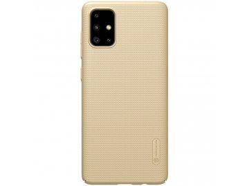 Nillkin plastový kryt (obal) pre Samsung Galaxy A71 - zlatý