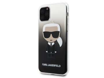 Karl Lagerfeld KLHCS10IKPUBL Ikonik kryt (obal) pre Samsung Galaxy S10 - modrý