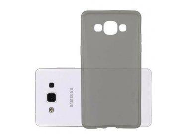 Silikónový kryt (obal) pre Samsung Galaxy A5 - priesvitný čierny