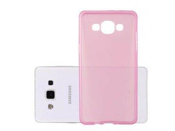 Silikónový kryt (obal) pre Samsung Galaxy A5 - priesvitný ružový