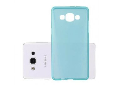 Silikónový kryt (obal) pre Samsung Galaxy A5 - priesvitný modrý
