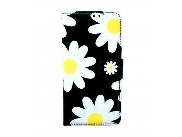 Flip Case (puzdro) pre Samsung Galaxy S7 - margarétky