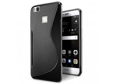 Silikónový kryt (obal) S-line pre Huawei P9 - čierny