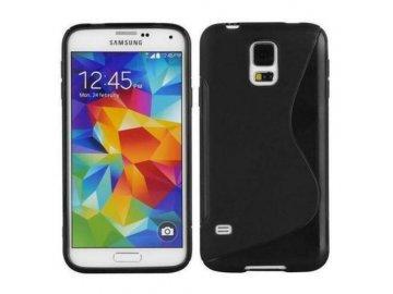 Silikónový kryt (obal) S-line pre Samsung Galaxy S4 - čierny 2