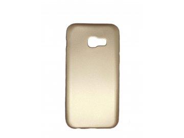 Silikónový kryt (obal) pre Samsung Galaxy A3 2017 - zlatý