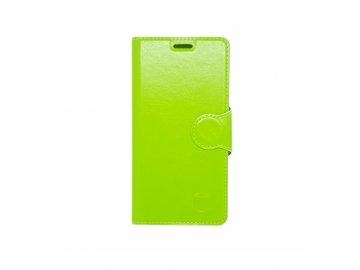 Mobilnet flip Case (puzdro) pre Samsung Galaxy A3 2016 - zelené