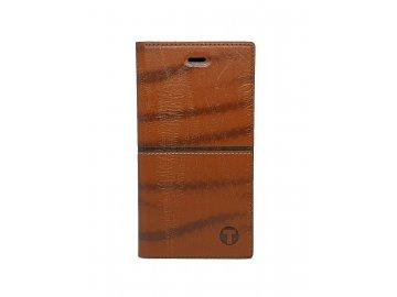Mobilnet flip Case (puzdro) pre Huawei P9 - hnedé