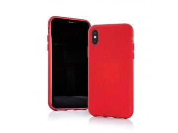 Silikónový kryt (obal) MATT pre Samsung Galaxy A20e - červený