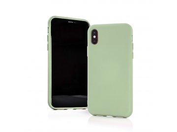 Silikónový kryt (obal) MATT pre Samsung Galaxy A20e - zelený