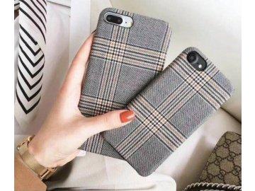 Plastový kryt (obal) pre iPhone 6+/6S+ (Plus) - károvaný