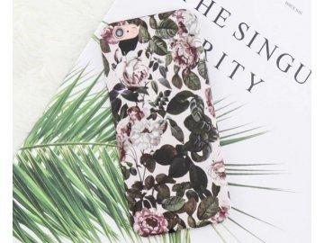 Plastový kryt (obal) pre iPhone 7+/8+ (Plus) - kvety