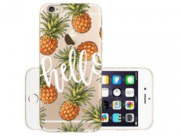Silikónový kryt (obal) pre iPhone 7+/8+ (Plus) - ananásy