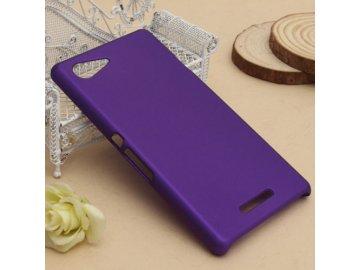Plastový kryt (obal) pre Sony Xperia L - fialový