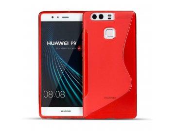 Gélový kryt (obal) pre Huawei P6 - červený