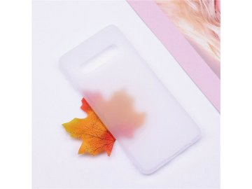 Silikónový kryt (obal) pre Huawei P9 Lite 2017 - matný biely