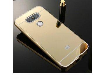 Hliníkový kryt (obal) pre LG G5 - zlatý (gold)