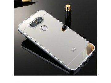 Hliníkový kryt (obal) pre LG G5 - strieborný (silver)