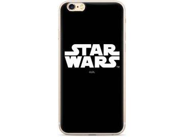 Star Wars zadný kryt (obal) pre Samsung Galaxy J6+ (Plus) - čierny