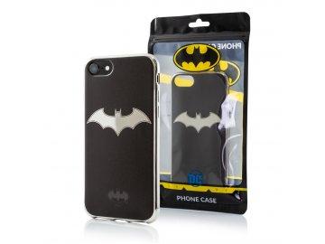 Batman Luxury Chrome zadný kryt (obal) pre Samsung Galaxy S10e - strieborný