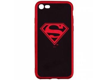 Superman Luxury Chrome zadný kryt (obal) pre Samsung Galaxy S10e - červený