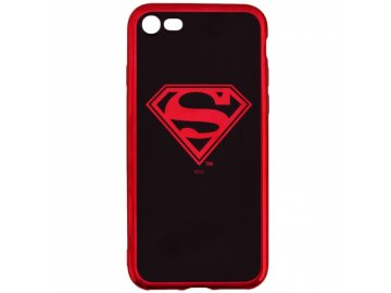 Superman Luxury Chrome zadný kryt (obal) pre iPhone 6/6S - červený
