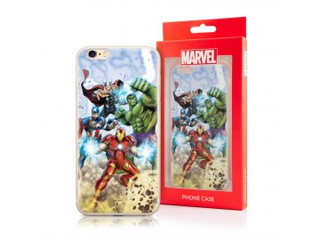 MARVEL Avengers silikónový kryt (obal) pre iPhone X/XS - farebný
