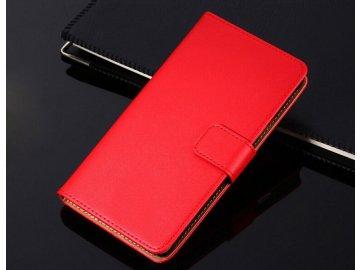 Flip Case (puzdro) pre Iphone 5/5S/SE - červené
