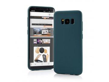 Silikónový kryt (obal) Matt pre Huawei P Smart Z - tmavozelený