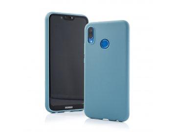 Silikónový kryt (obal) Matt pre Huawei P Smart Z - sivomodrý