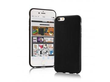 Silikónový kryt (obal) Matt pre Motorola Moto G8 Plus - čierny